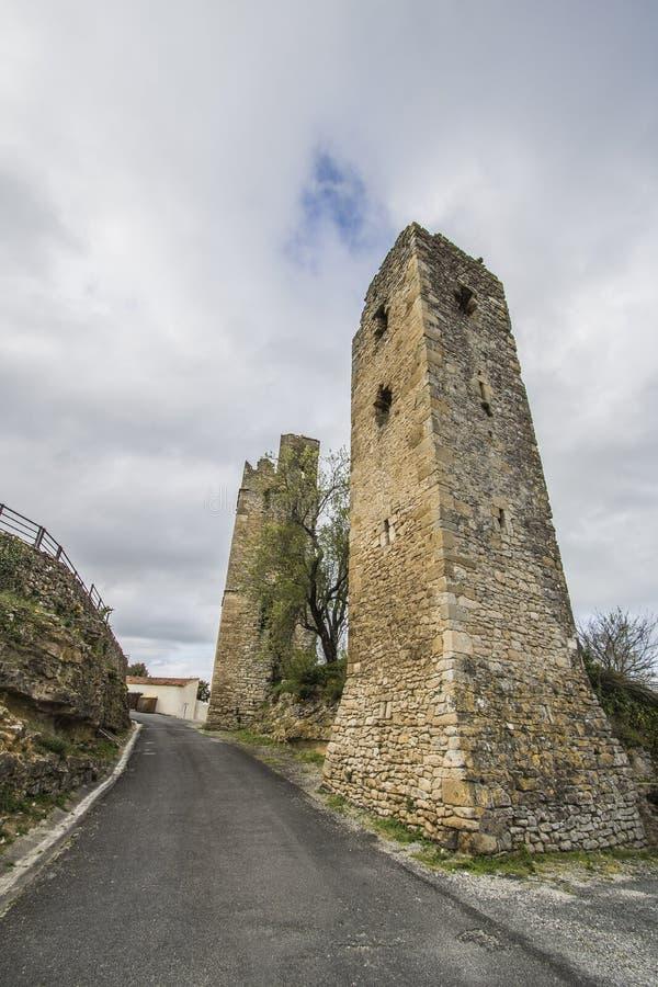 Saint-Martin-le-Vieil, França fotos de stock royalty free