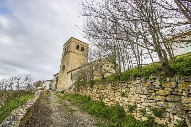 Saint-Martin-le-Vieil, França foto de stock