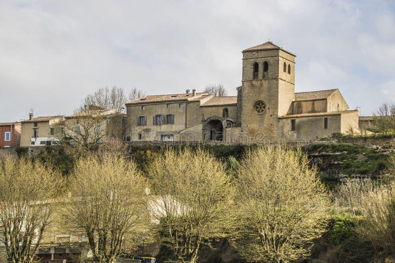 Saint-Martin-le-Vieil, França imagem de stock
