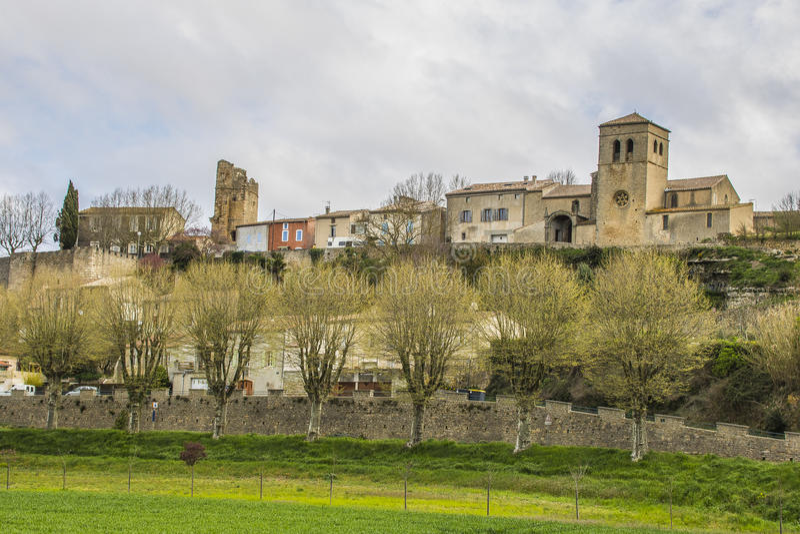 Saint-Martin-le-Vieil, França imagem de stock royalty free
