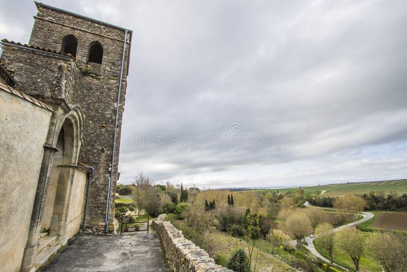 Saint Martin le Vieil, França imagem de stock royalty free