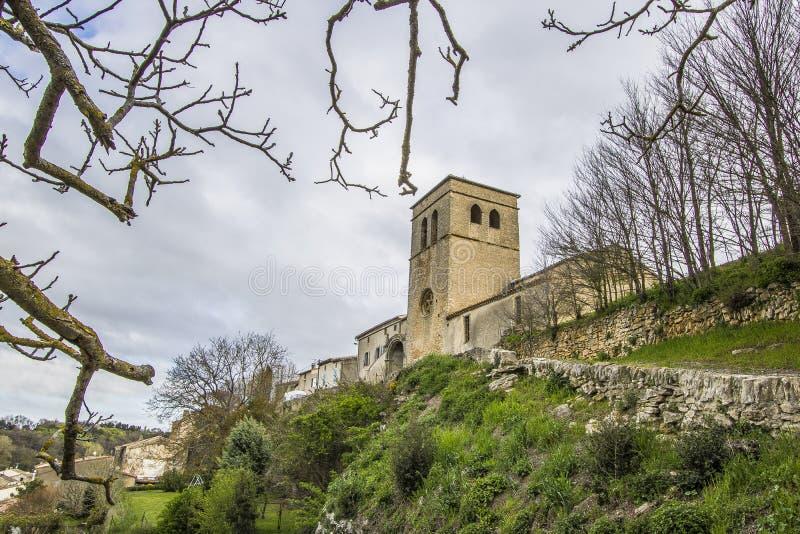 Saint Martin le Vieil, França foto de stock royalty free