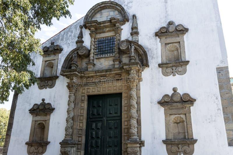 Saint Mary Church de Braganca fotos de stock