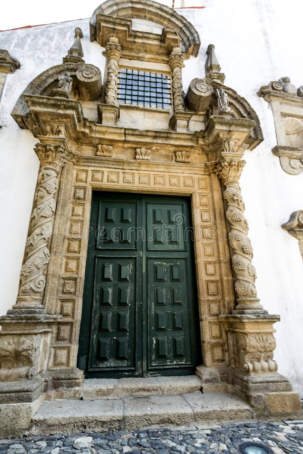 Saint Mary Church de Braganca fotos de stock royalty free
