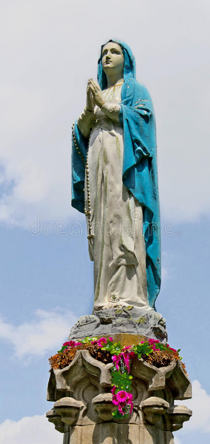 Saint Mary royalty free stock images