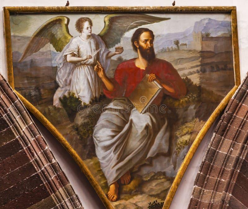 Saint Matthew Convent Immaculate Conception Nuns San Miguel Mexico imagem de stock