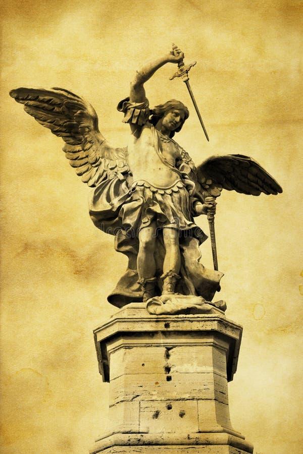 Saint Michael stock image
