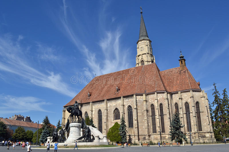 Download Saint Michael's Cathedral Of Cluj Editorial Image - Image: 28907065