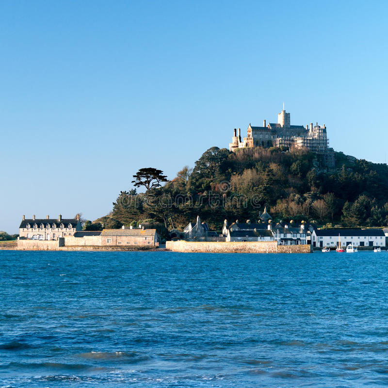 Saint Micheal's Mount, Cornwall, England. royalty free stock photography
