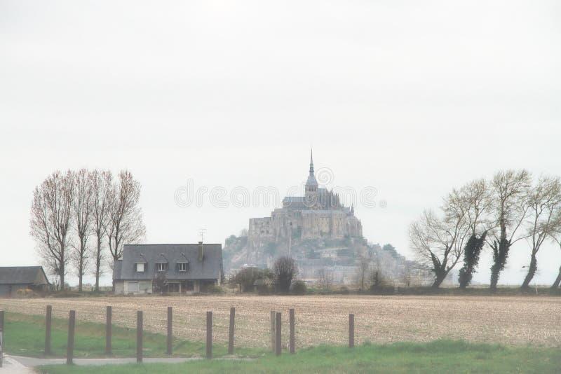 Saint Michel de Le Mont images libres de droits