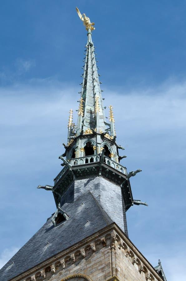 Saint-Michel de Mont imagen de archivo
