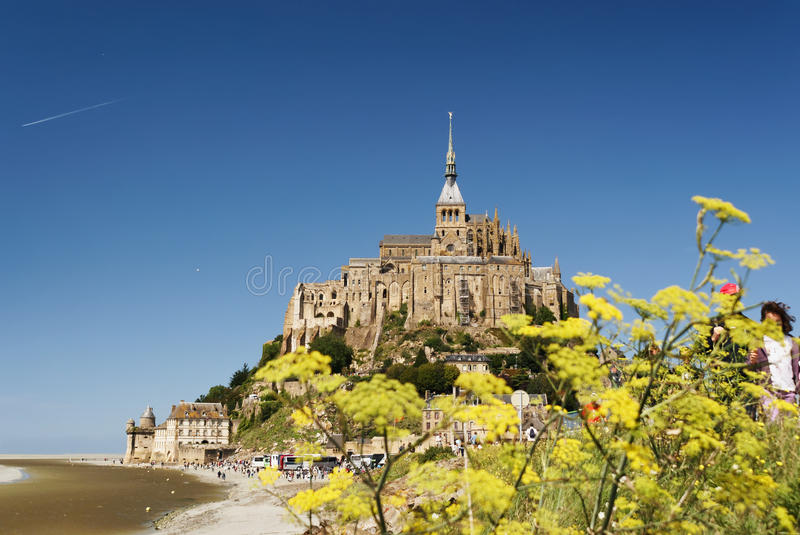 Saint-Michel de Mont photo libre de droits
