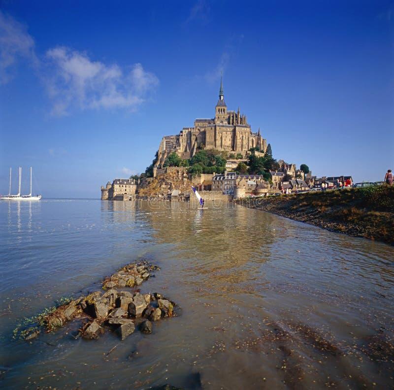 Saint Michel de Mont, France fotos de stock royalty free