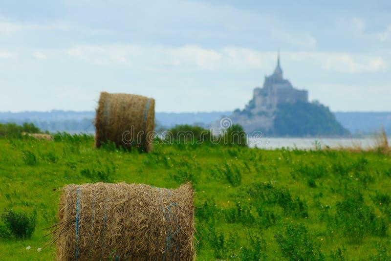 Saint Michel del Le Mont immagine stock libera da diritti