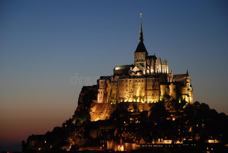 Saint Michel di Mont immagine stock