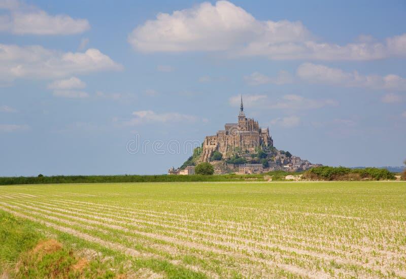 Saint-Michel di Mont fotografie stock libere da diritti