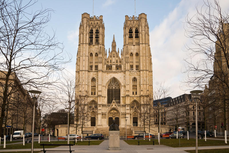 Saint-Michel et sainte-Goedele royalty-vrije stock fotografie