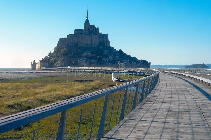 Saint-Michel France de Mont foto de stock