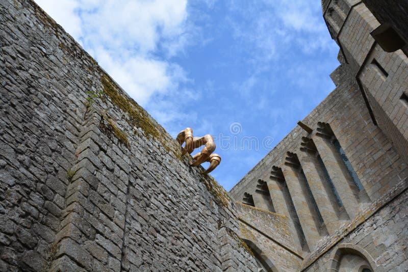 Saint-Michel Francia de Mont imagenes de archivo