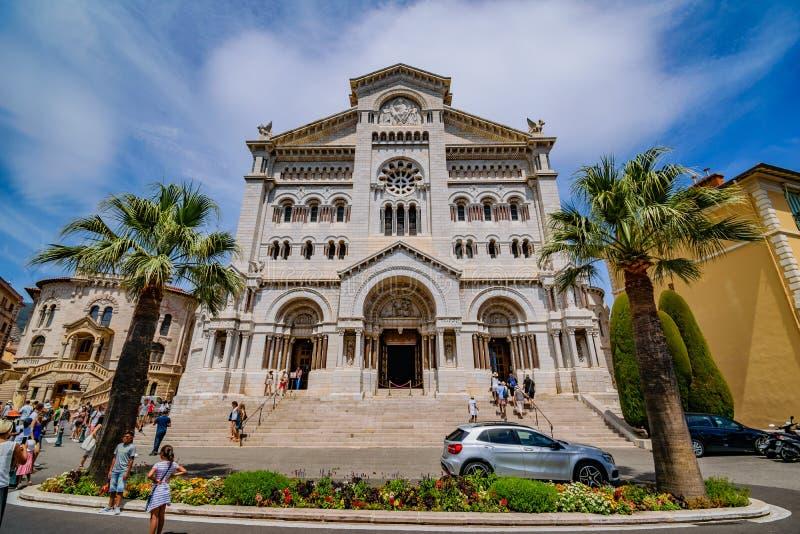 Saint Nicholas Cathedral Monaco fotografia de stock royalty free