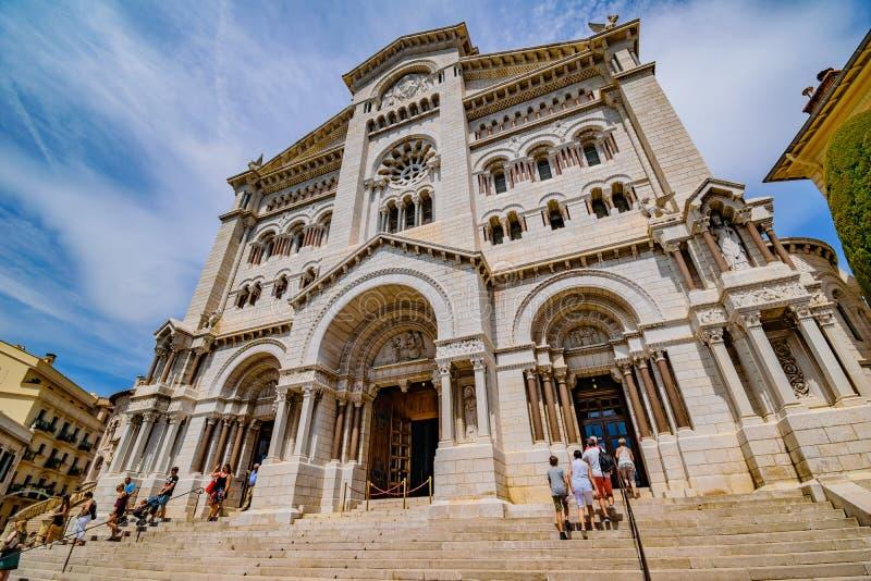 Saint Nicholas Cathedral Monaco fotos de stock royalty free