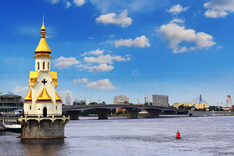 Download Saint Nicholas church stock photo. Image of cloudy, travel - 25145598