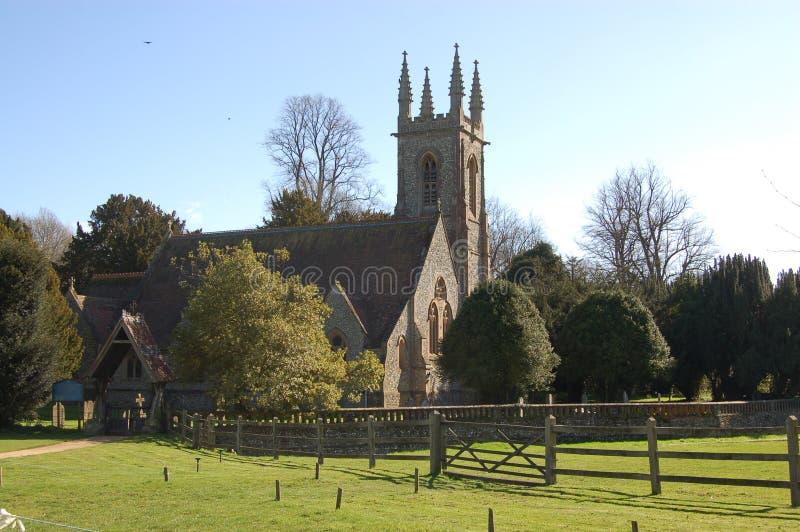 Download Saint Nicholas Church, Chawton Stock Photo - Image: 7913414