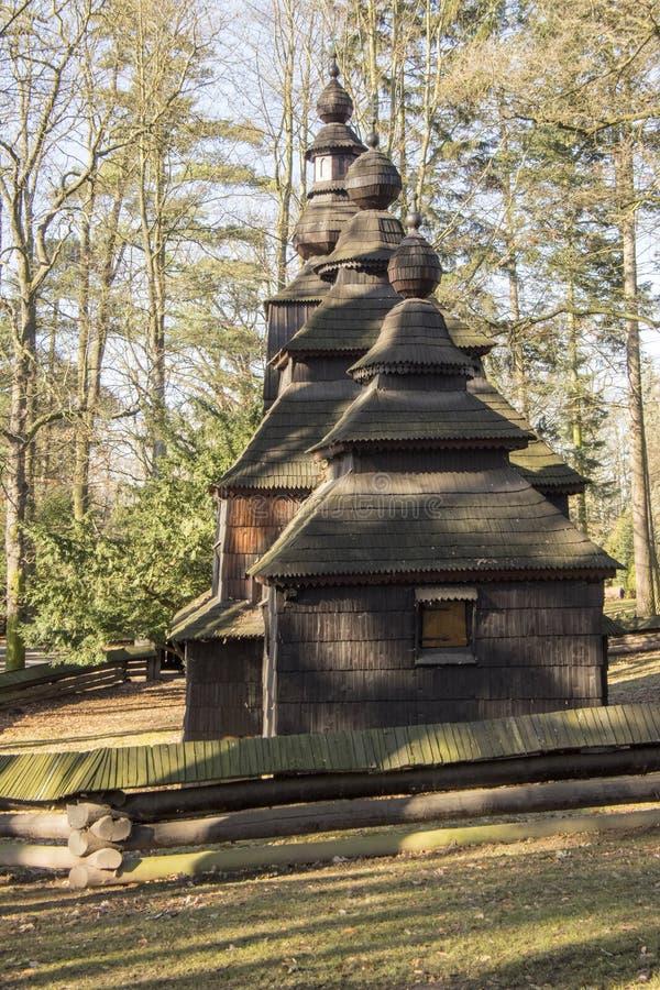 Saint Nicholas Church Wonderer placé dans les jardins publics, Hradec Kralove, République Tchèque image stock