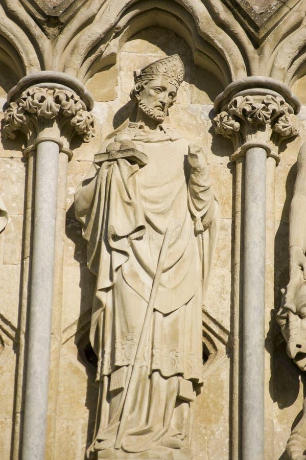 Saint Nicholas Statue, Salisbury Royalty Free Stock Photography