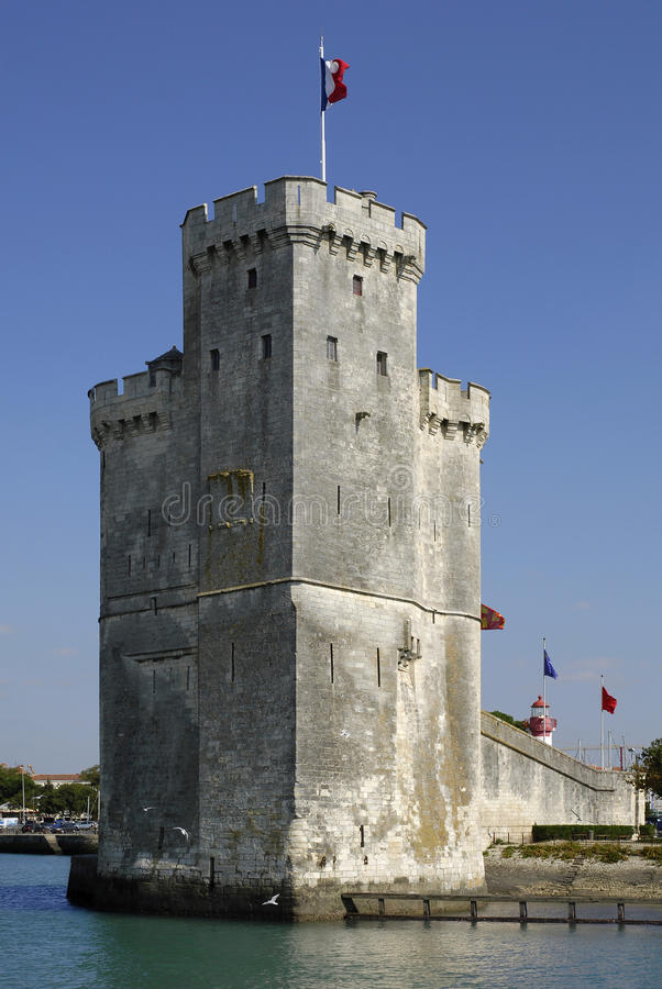 Saint Nicolas de tour à La Rochelle en France images libres de droits