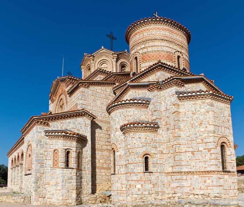 Saint Panteleimon Monastery in Ohrid, Macedonia royalty free stock image