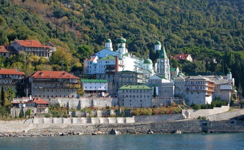 Saint Panteleimonas Russian Monastery Stock Photography