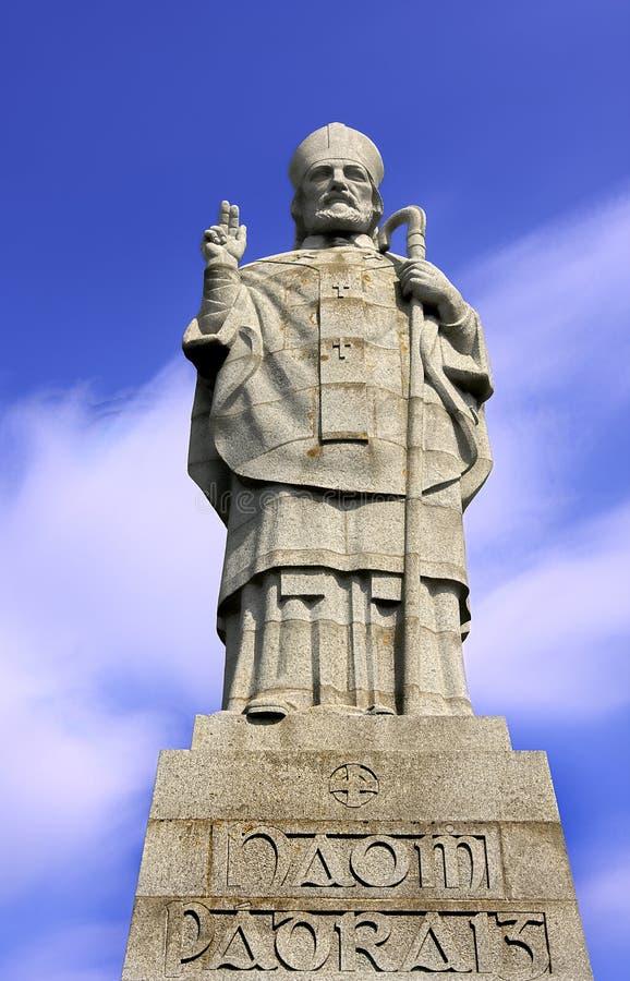 Saint patrick. Monument of saint patrick in downpatrick ireland royalty free stock photo