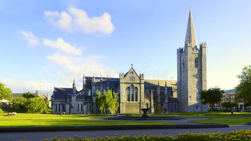 Saint Patrick Cathedral Dublin Ireland Stock Image