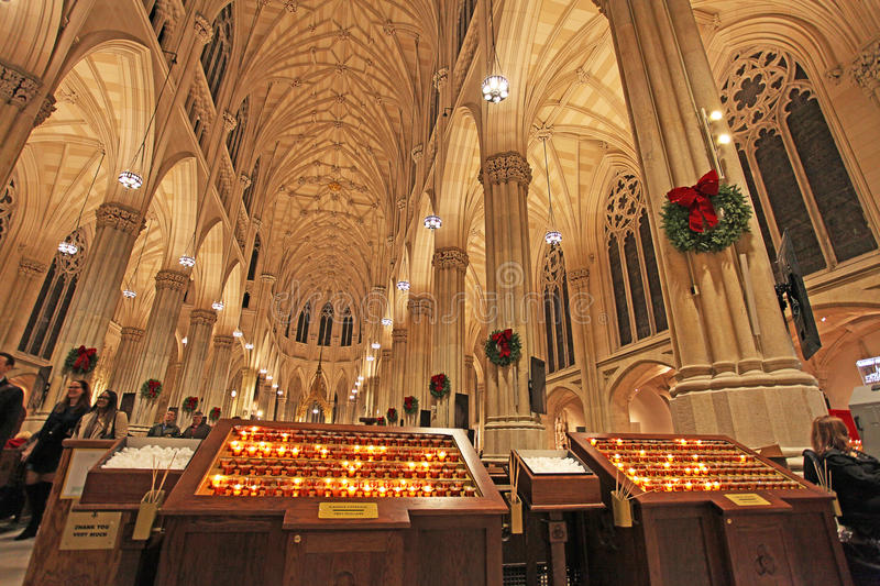 Saint Patrick Cathedral New York City, Etats-Unis photographie stock libre de droits
