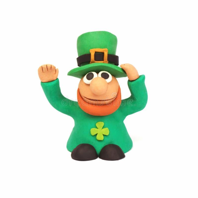 Saint Patrick figurine stock images