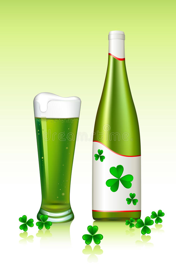 Download Saint Patrick's Day stock vector. Image of saint, background - 18330484