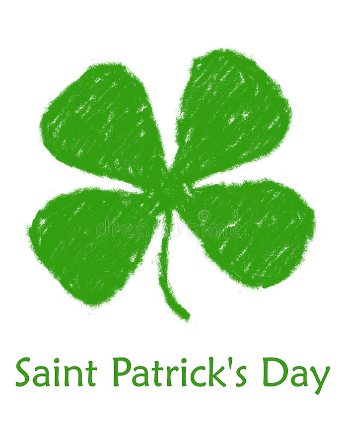 Download Saint Patrick's Day stock illustration. Image of lucky, leaf - 77873