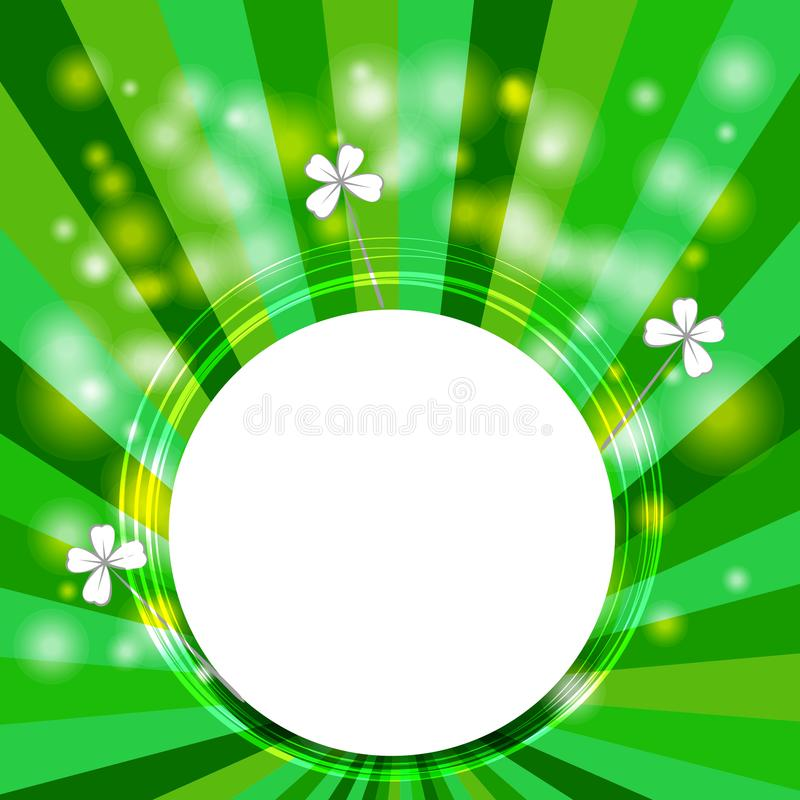 Background for Patrick s day poster vector illustration