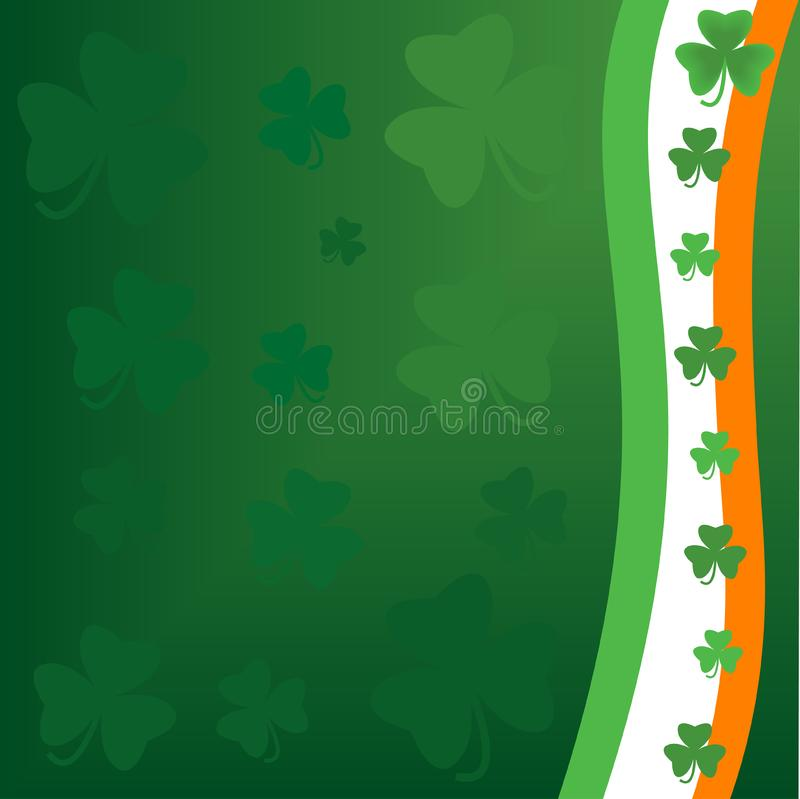 Saint Patrick's day background royalty free stock photos