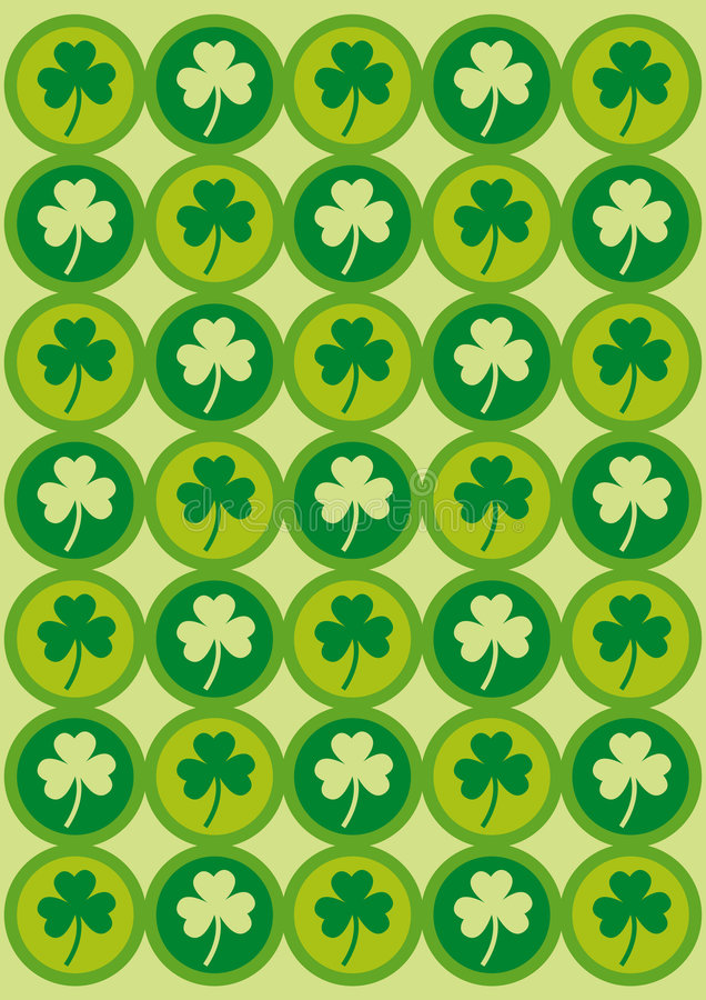 Saint Patrick's day background. vector illustration