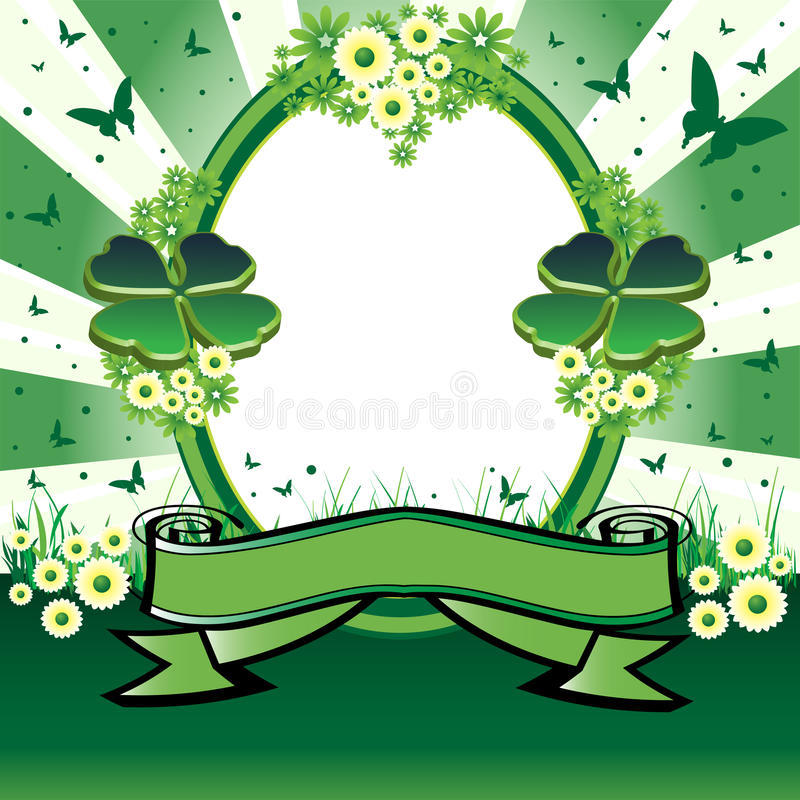 Download Saint Patrick's Day frame stock vector. Image of decorative - 18462914