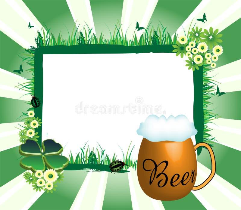 Saint Patrick's Day frame royalty free stock image
