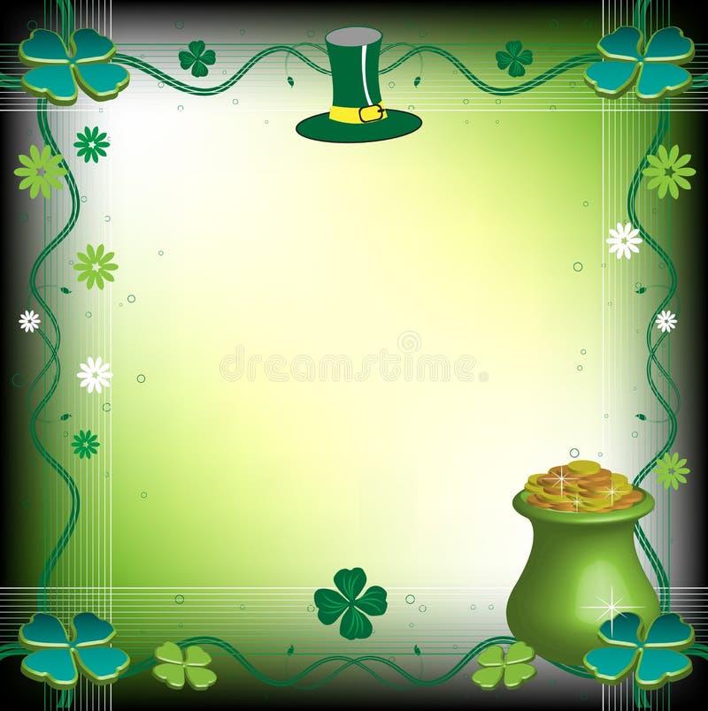 Saint Patrick's Day frame royalty free stock photos