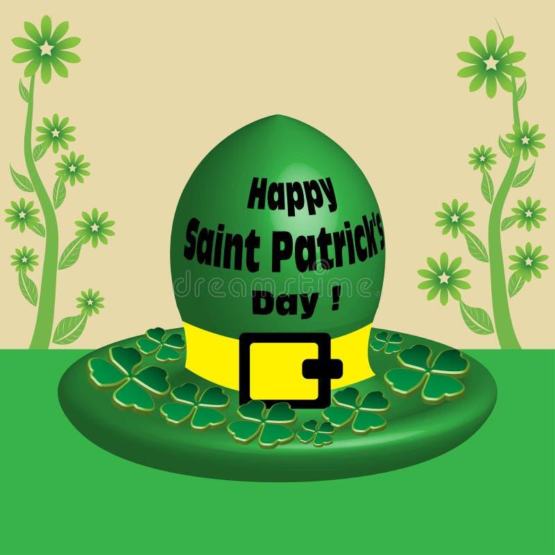 Saint Patrick's Day hat stock image