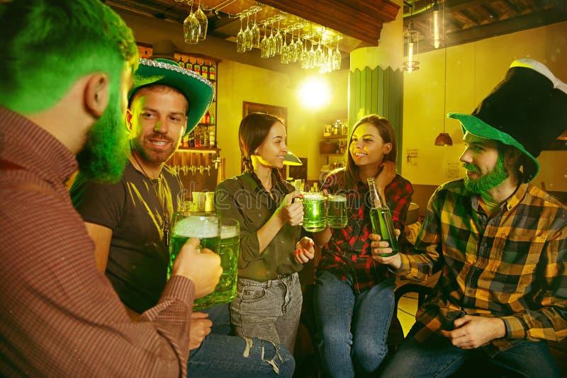 Saint Patrick`s Day Party. stock photography