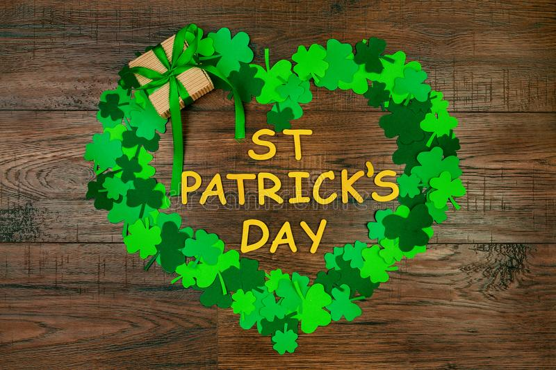 Saint Patrick`s Day & Spring is coming royalty free stock photography