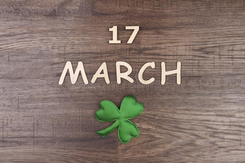 Saint Patrick`s Day & Spring is coming royalty free stock images