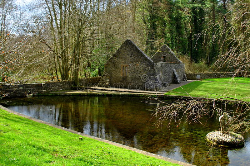 SAINT PATRICK'S WELL. St Patricks Well is a beautiful attraction in Clonmel, Ireland and a very religious place royalty free stock photos