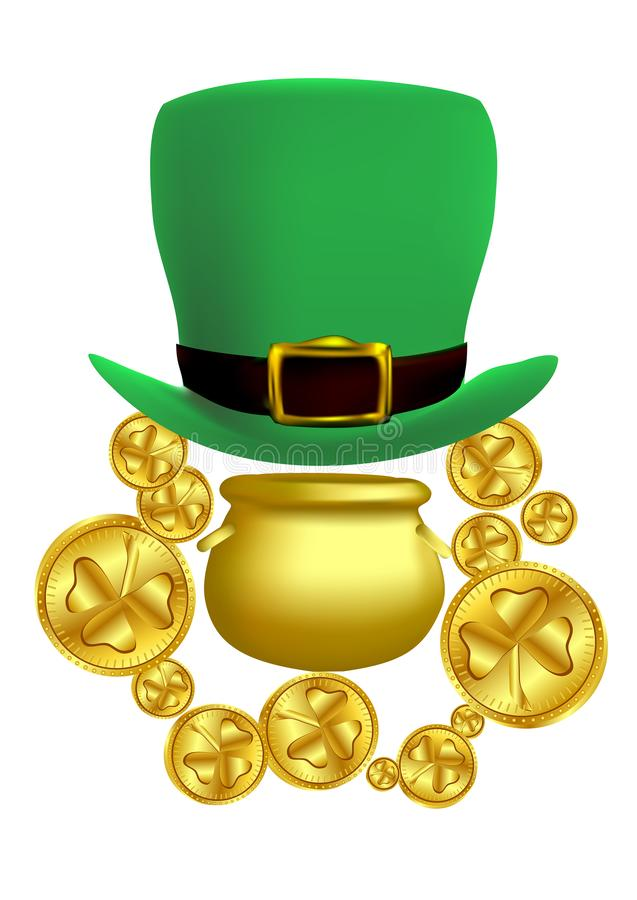 Saint Patricks Day concept vector illustration